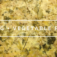 Egg & Vegetable Pie (Vegetarian)