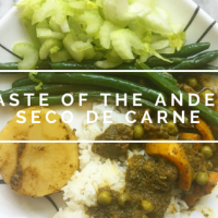 Taste of the Andes: Seco de Carne (Cilantro Beef Stew)